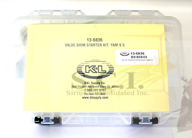 HONDA TRX450 TRX450ER YFZ450R CRF450 CRF450R 9.5MM VALVE SHIM KIT 50 1.85-2.30