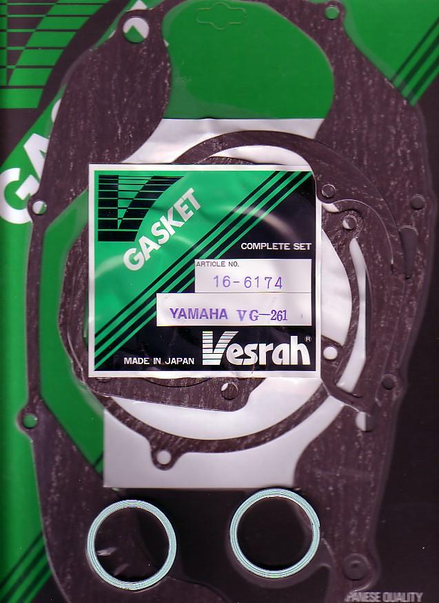 YAMAHA RD400 RD 400 ATHENA COMPLETE ENGINE GASKET SET 1976-1979