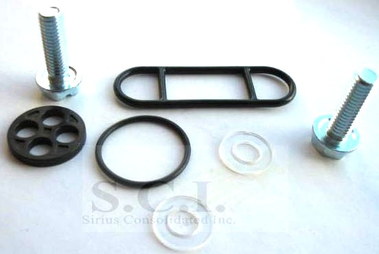 Kawasaki KZ250 KZ305 CSR LTD EX305 GPZ KL600 Fuel Petcock Repair Kit 18-2706