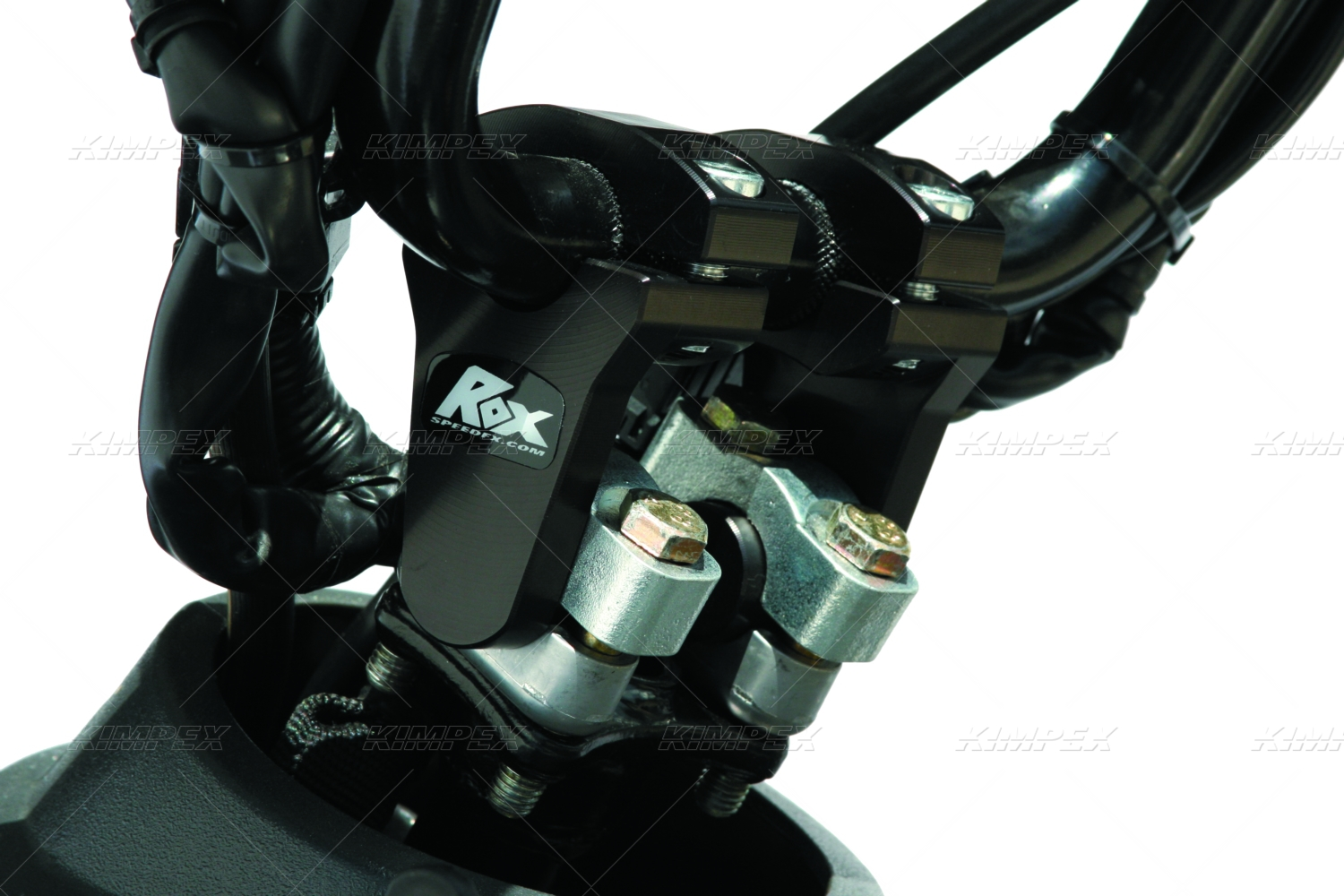 ROX SPEED FX PIVOTING HANDLEBAR RISERS 2 INCH RISE For 7 8