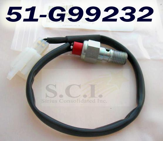 Honda Xr650 Xr400 Cfr450 Banjo Bolt Brake Light Switch