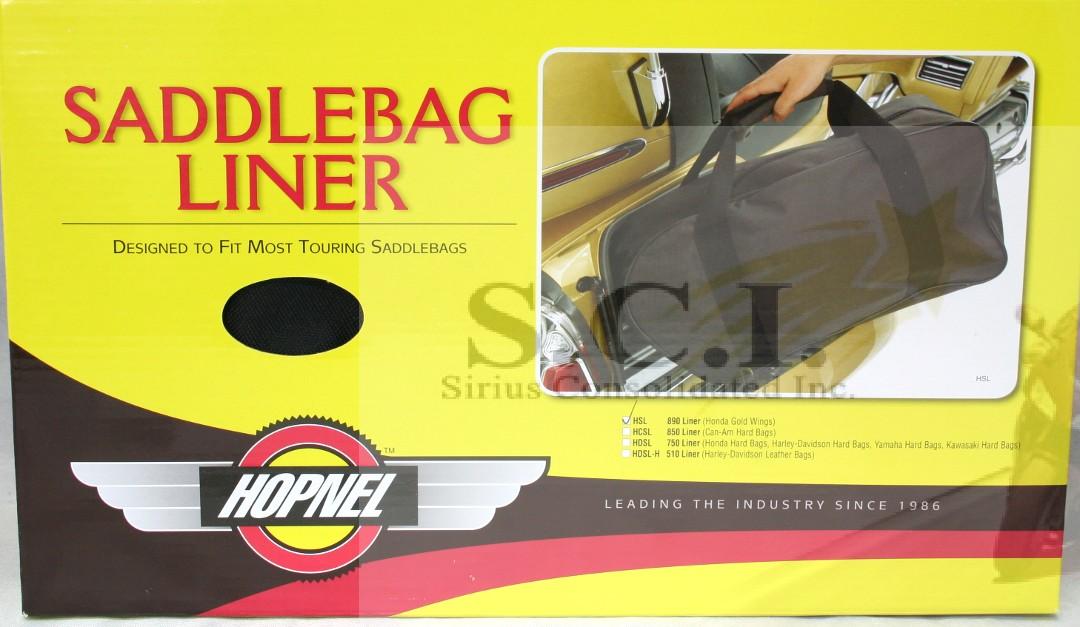 Details about HONDA GL1200 GL1500 GL1800 GOLDWING SADDLEBAG LINER LARGE