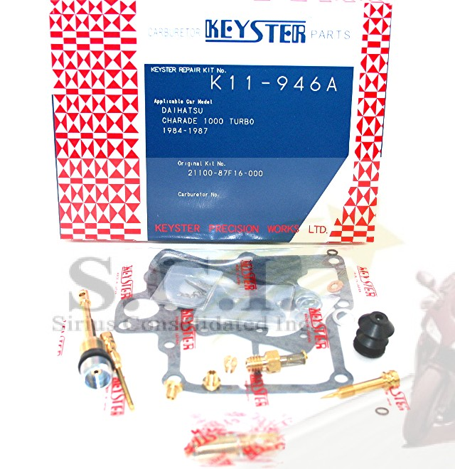 Turbo Kit Daihatsu: DAIHATSU HI-JET HIJET S70 S75 KEYSTER CARB KIT 1982/05 Up