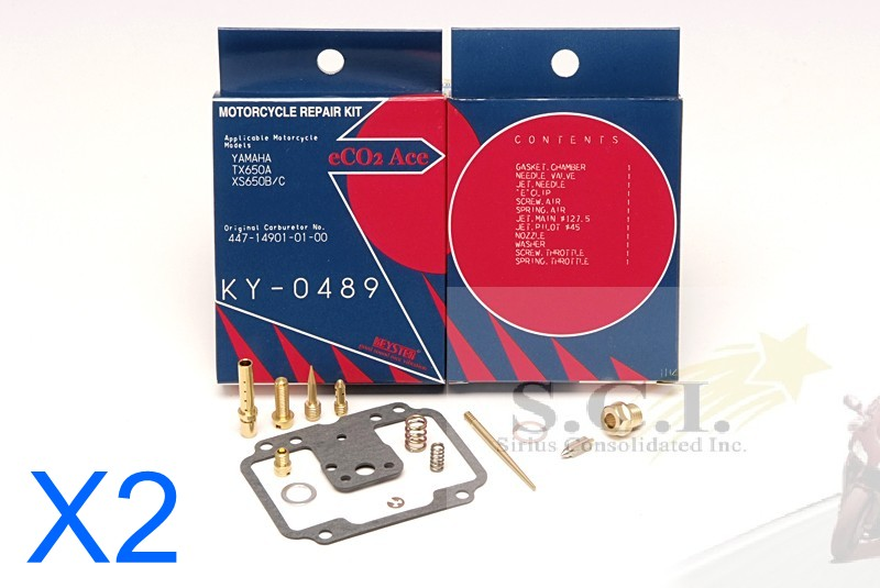 "Keyster Vergaser Reparatursatz,KY-0541plus Yamaha SR500 2J2//2J4,/""78-83/"""