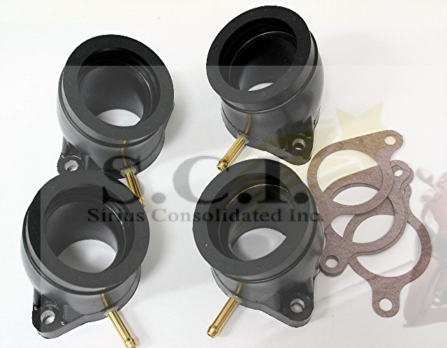 yamaha xs1000 xj1100 intake carb manifold boot flange. Black Bedroom Furniture Sets. Home Design Ideas