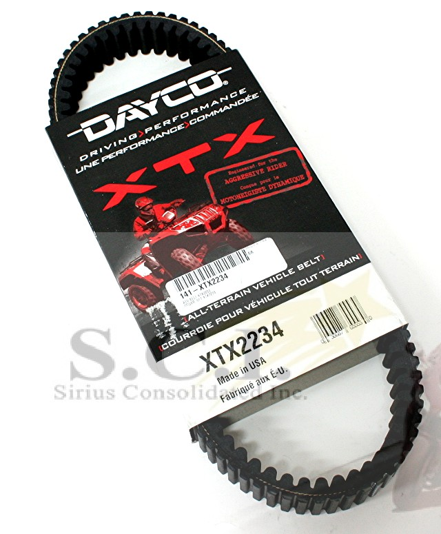 Dayco XTX Drive Belt for Arctic Cat MudPro 1000 Limitied 2012-2014
