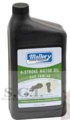 MALLORY 4-STROKE MOTOR OIL 10W-40 1 GALLON