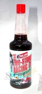 RED LINE TWO-STROKE RACING OIL SYNTHETIC LUBRICATION