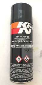 K&N AIR FILTER OIL 12.25 OZ SPRAY CAN 99-0516