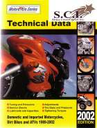 MOTORCYCLE TECHNICAL DATA MANUAL 1989 - 2002