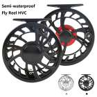 Super Light HVC CNC Machine Cut Aluminum Large Arbor Fly Fishing Reel