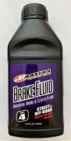 MAXIMA BRAKE FLUID DOT 4 500ML HIGH TEMPURATURE FOR BRAKES AND CLUTCHS 80-86916