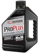 Maxima 30-019128 Pro Plus+ 10W-30 Synthetic Motorcycle Engine Oil 1 Gallon Jug