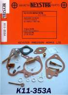 TOYOTA FJ40 FJ43 LAND CRUISER CARB KIT 1967 - 1968