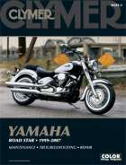 CLYMER YAMAHA ROADSTAR MANUAL 1999 - 2007