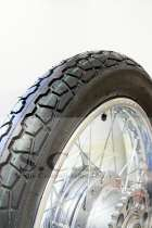 DOT RIBBED H-RATED FRONT AND H-RATED 6 PLY REAR TIRE