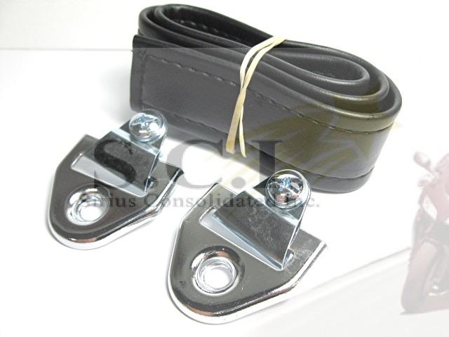HONDA CB77 CB450 CB350 CB750 GL1000 SEAT STRAP BUCKLES