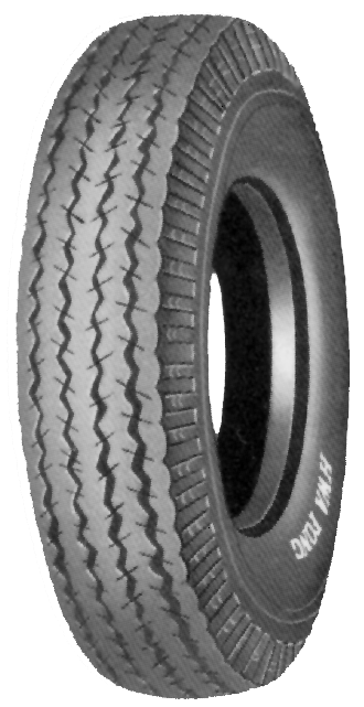 DURO 6PLY HF215 HIGH SPEED TRAILER TIRE 4.80-12