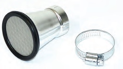 54mm SPUN ALUMINUM VELOCITY STACK