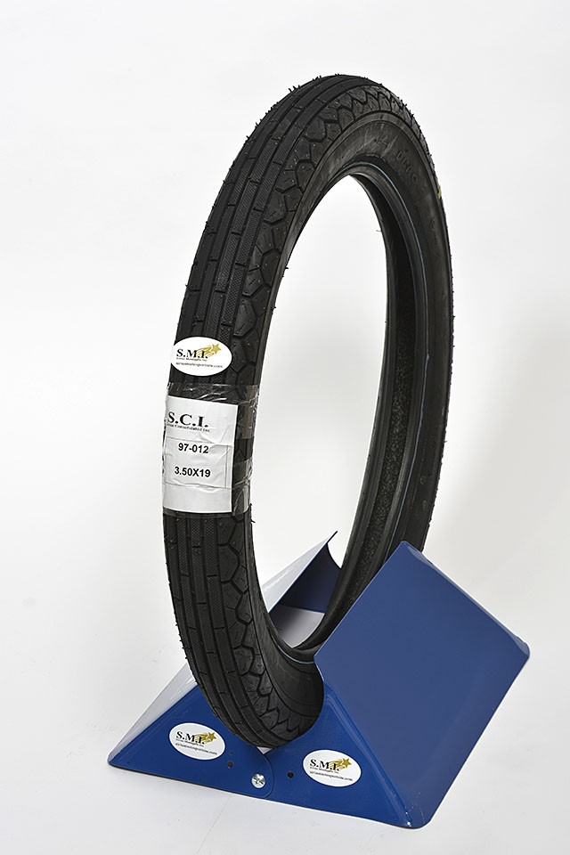 DURO RIBBED FRONT TIRE 3.50-19