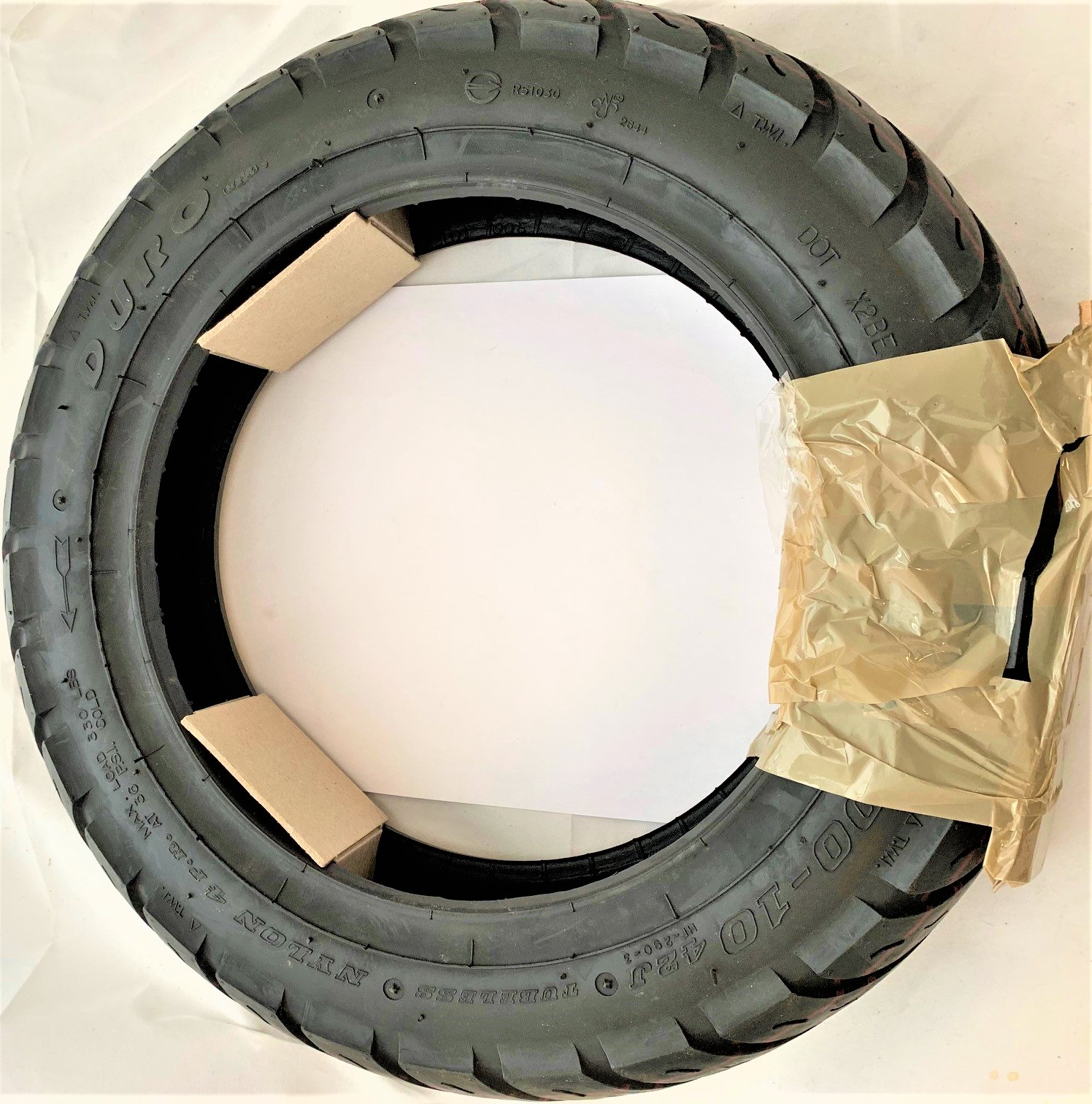DURO TUBELESS SCOOTER E-BIKE TIRE 3.00-10 3.00x10