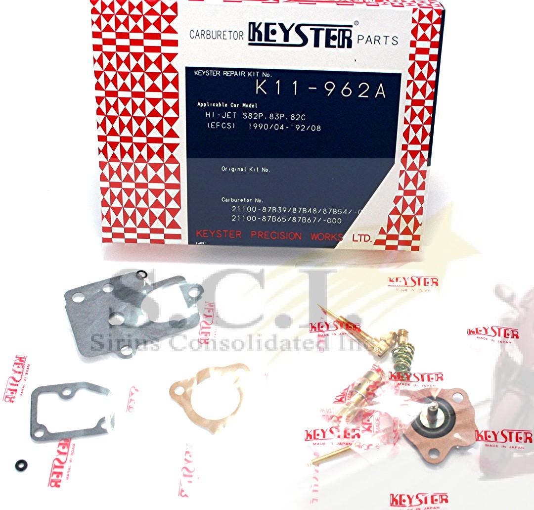 Daihatsu HI-JET S82 S83 S82C S82P KEYSTER CARB KIT 1990/04 - 1992/08