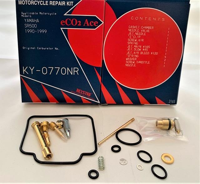 YAMAHA SR500 ASIAN MODEL KEYSTER CARBURETOR REPAIR KIT 1990 - 1999