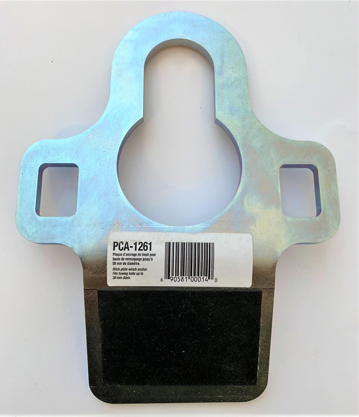 PCA-1261 HOLDING PLATE FOR PCW3000 PORTABLE GAS WINCH