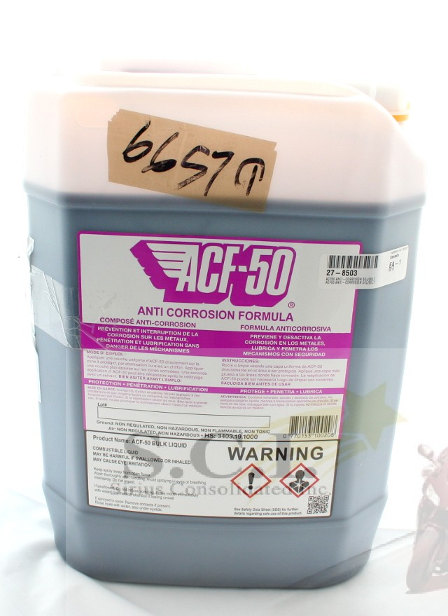 ACF-50 ANTI-CORROSION 20L 5 GALLON JUG