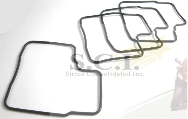 HONDA ST1100 VFR700F VFR750F FLOAT BOWL GASKETS - SET OF FOUR