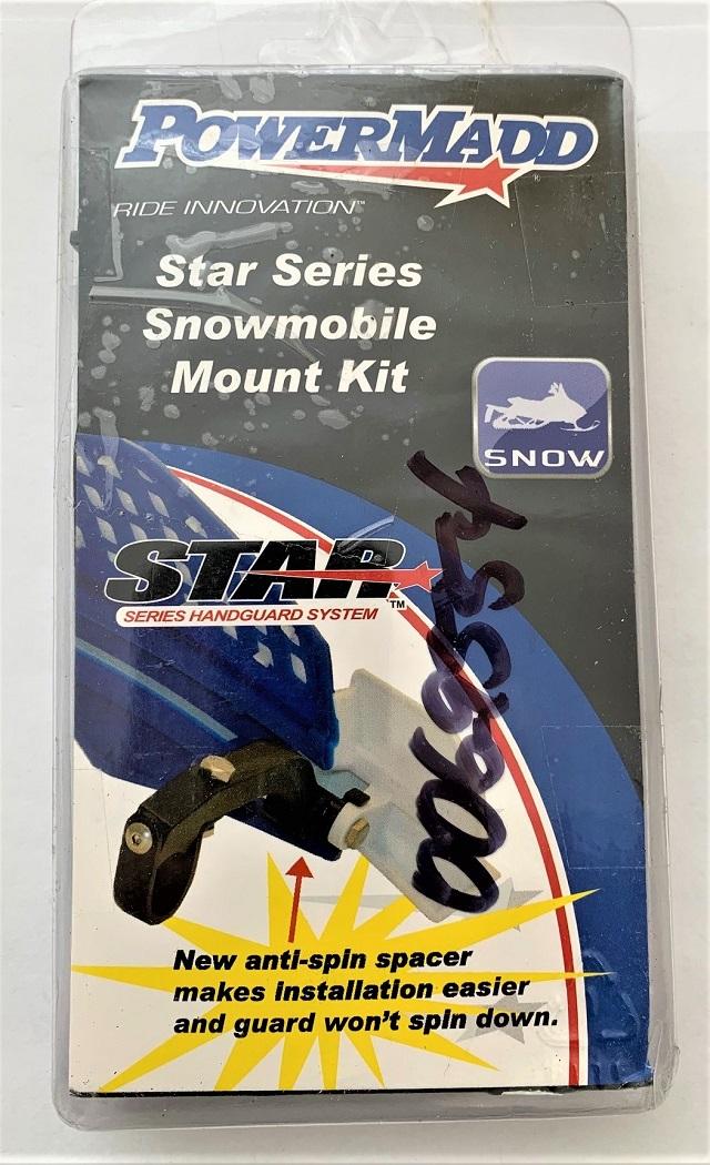 PowerMadd 34250 Star Series/Trail Star Handguard Mount Kit - Snowmobile