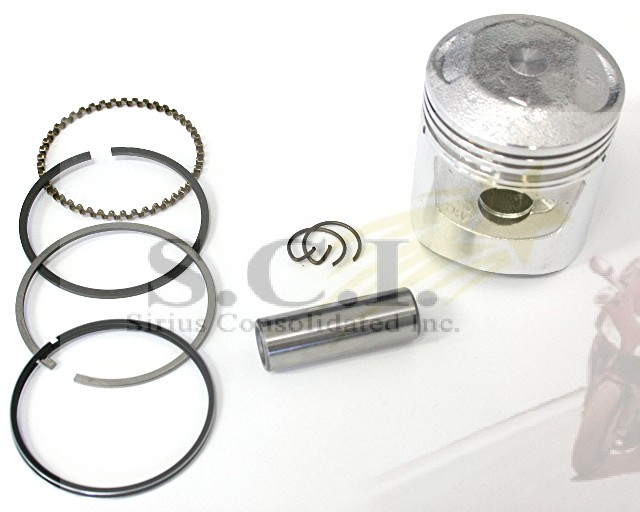 honda ct90 s90 st90 atc90 cl90 cm90 piston kit - 0 50 oversize