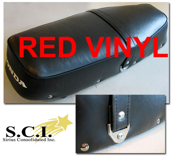 HONDA CB160 CL160 SPORT SEAT COVER RED 1965 - 1969
