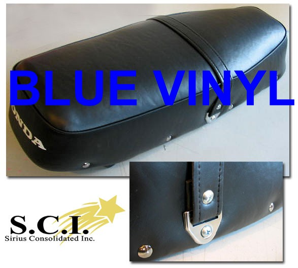 HONDA CB160 CL160 SPORT SEAT COVER BLUE 1965 - 1969