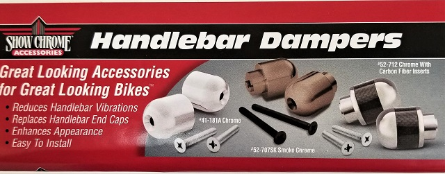 CAN-AM CANAM CAN AM BRP SYPDER HANDLEBAR CHROME END WEIGHTS