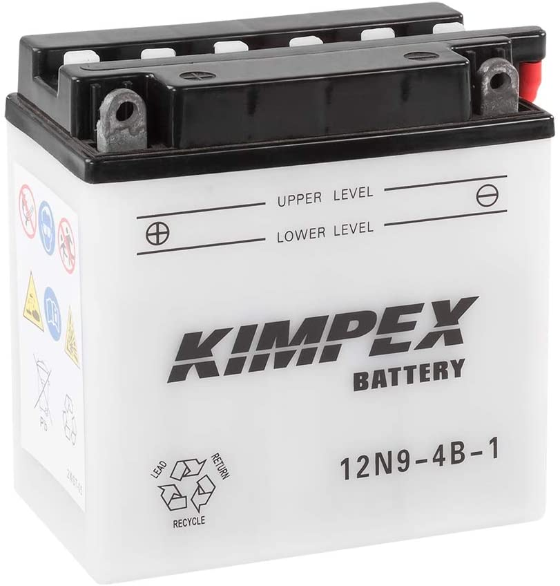 Kimpex 12N9-4B-1-PP 12N9-4B-1 KIMPEX CONVENTIONAL BATTERY