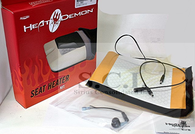 SYMTEC HEAT DEMONS ELECTRIC SEAT HEATER
