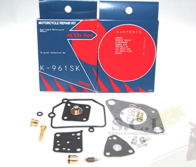 SUZUKI F6A DAIHATATSU DD51T JAPANESE MINI TRUCK KEYSTER CARB KIT