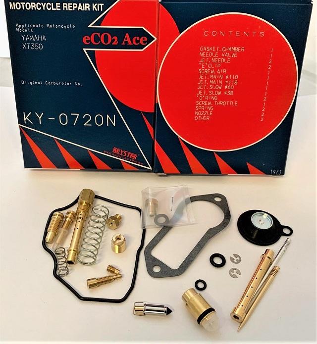 YAMAHA XT350 KEYSTER CARBURETOR REBUILD REPAIR KIT 1987
