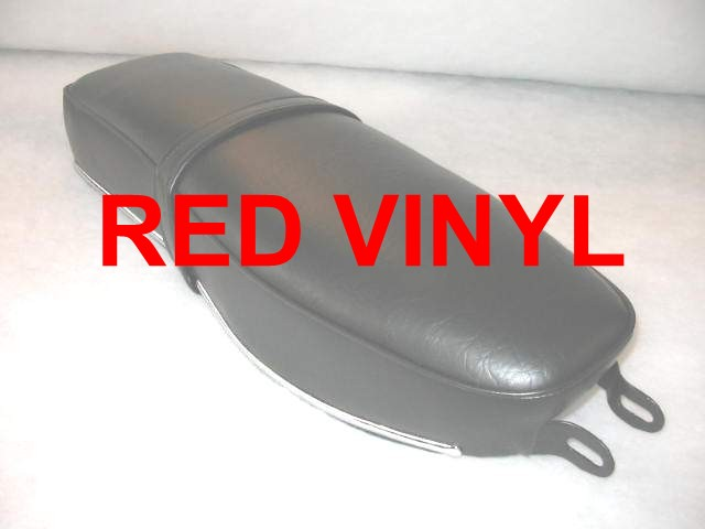 HONDA CA95 BENLY TOURING SEAT COVER 1959 - 1963 RED
