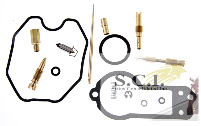 HONDA XR250R KEYSTER CARBURETOR REBUILD REPAIR KIT 1996 - 2004