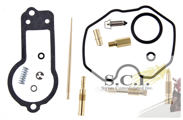 HONDA XR250R KEYSTER CARBURETOR REBUILD REPAIR KIT 1986 - 1995