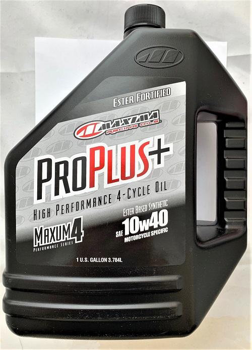 MAXIMA PRO PLUS+ 10W40 SYNTHETIC MAXUM4 SERIES 4 1 Gallon